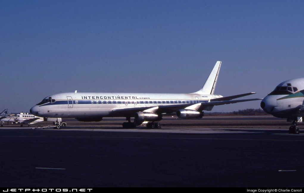 N8038A - Douglas DC-8-33 - Intercontinental Airways