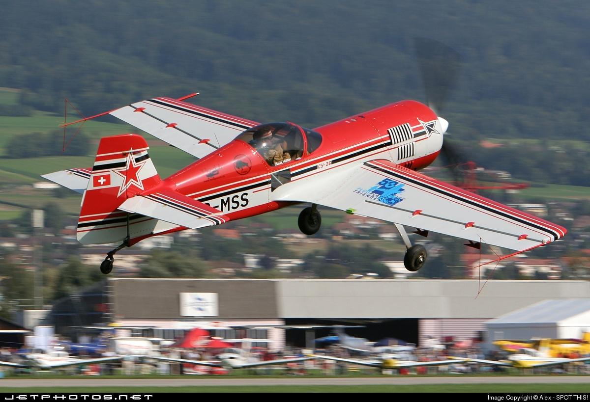 HB-MSS - Sukhoi Su-26M - Private