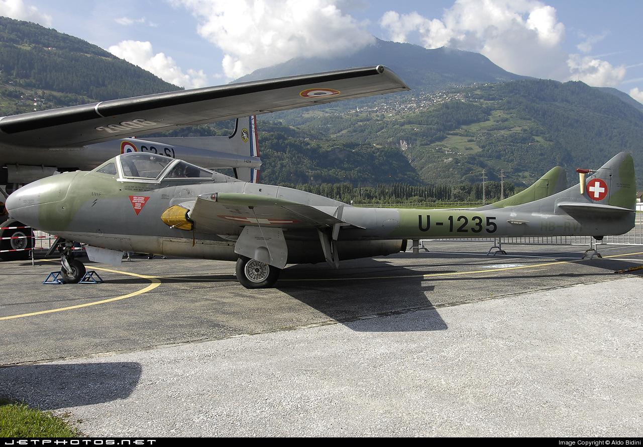HB-RVI - De Havilland DH-115 Vampire - Air Vampires