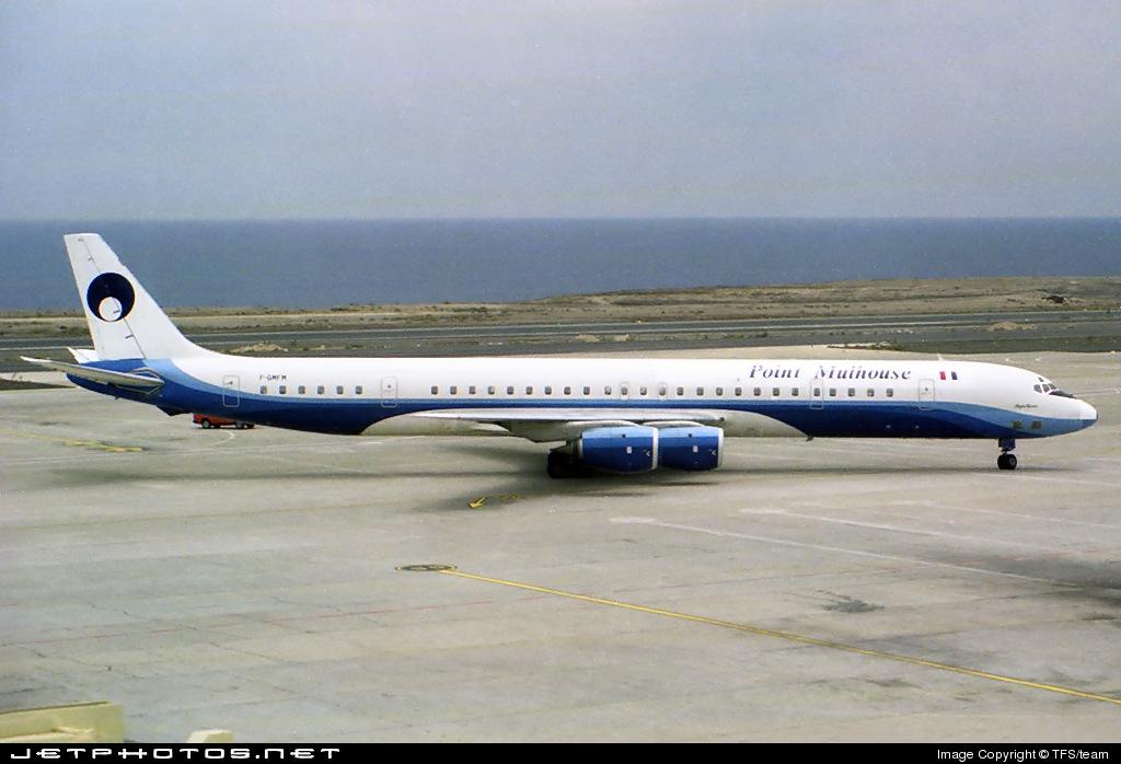 F-GMFM - Douglas DC-8-71 - Point Air