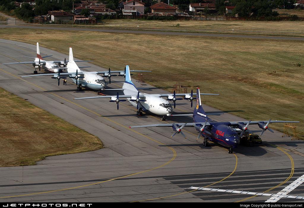 LZ-VEC - Antonov An-12BK - Vega Air