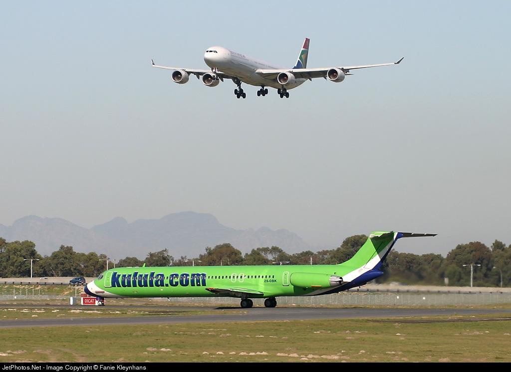 ZS-OBK - McDonnell Douglas MD-82 - Kulula.com