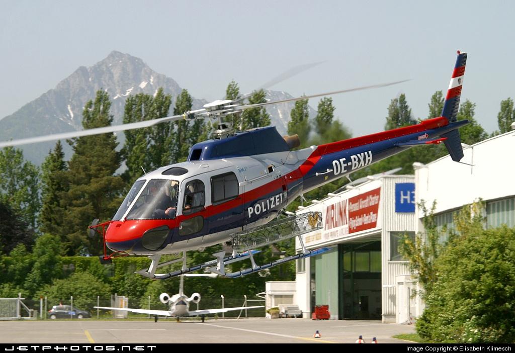 OE-BXH - Aérospatiale AS 350B1 Ecureuil - Austria - Ministry of Interior