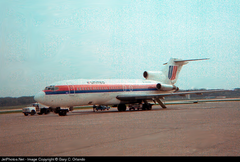 N7422U - Boeing 727-22C - United Airlines