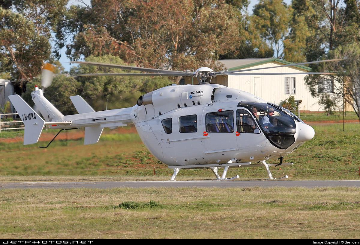 VH-WKA - Eurocopter EC 145 - Helicopters Australia