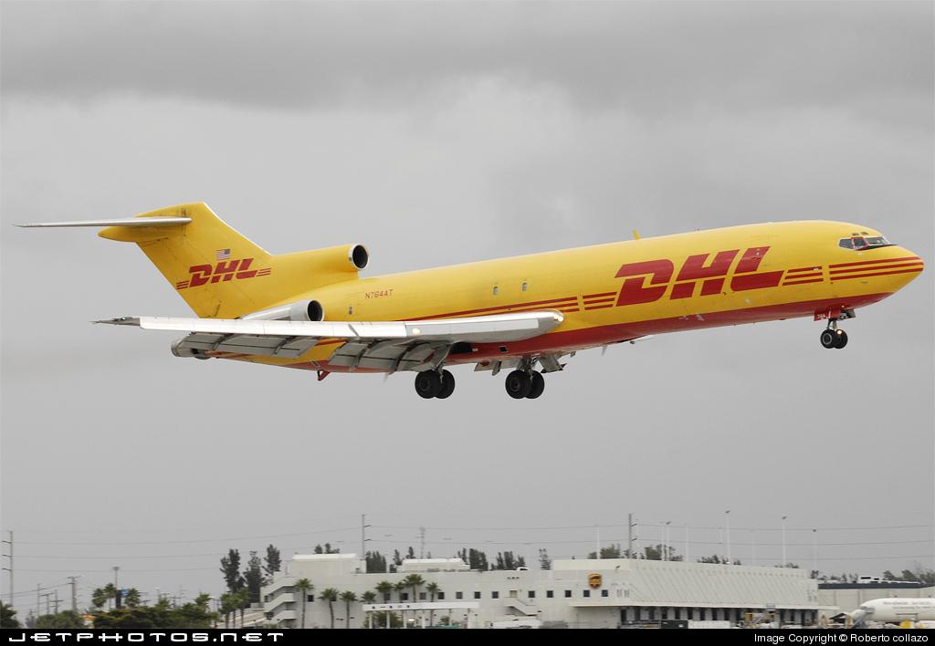 N764AT - Boeing 727-264(Adv)(F) - DHL (ASTAR Air Cargo)