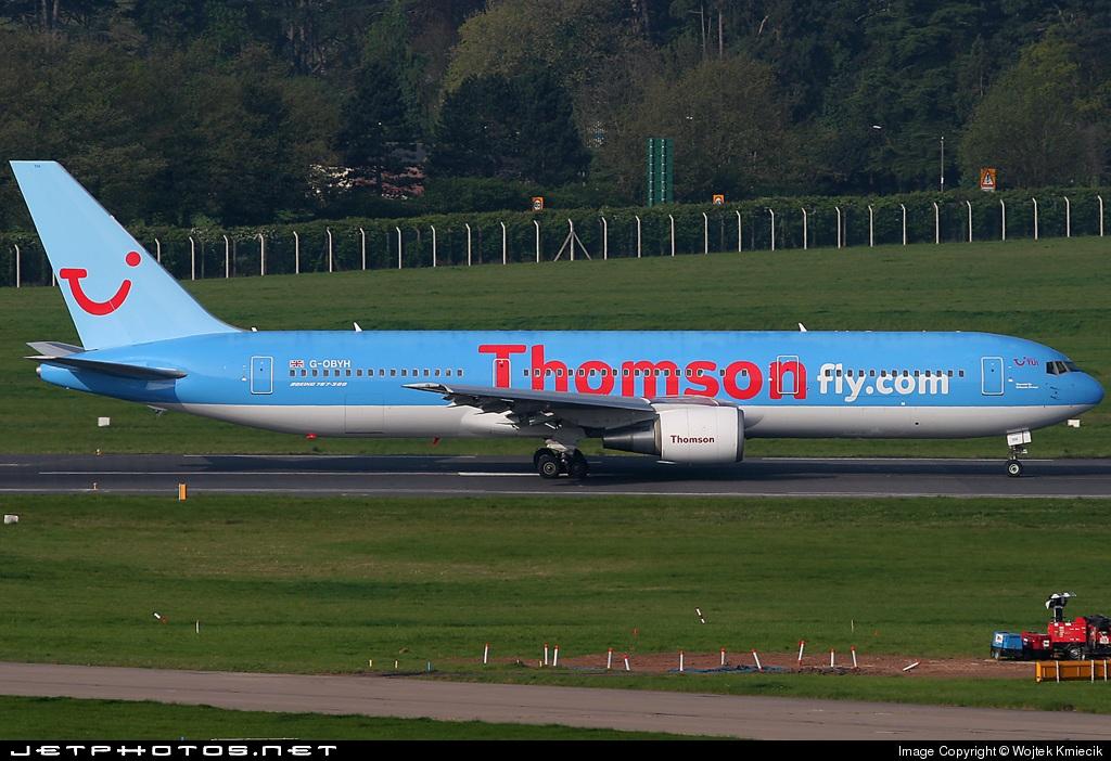 G-OBYH - Boeing 767-304(ER) - Thomsonfly
