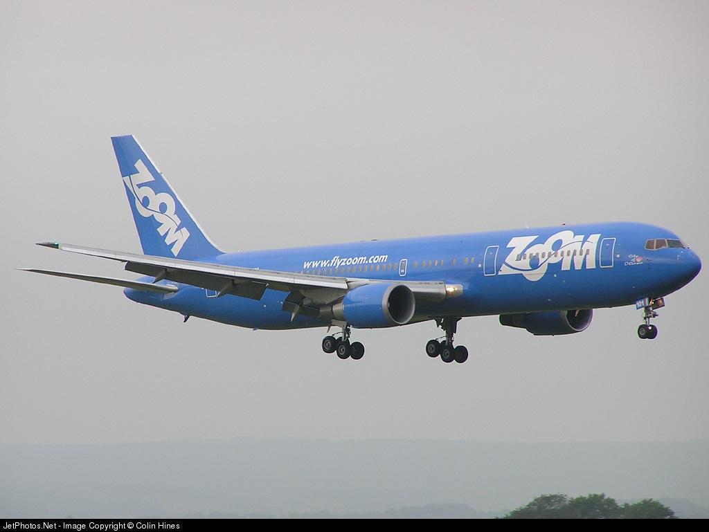 C-GZUM - Boeing 767-328(ER) - Zoom Airlines