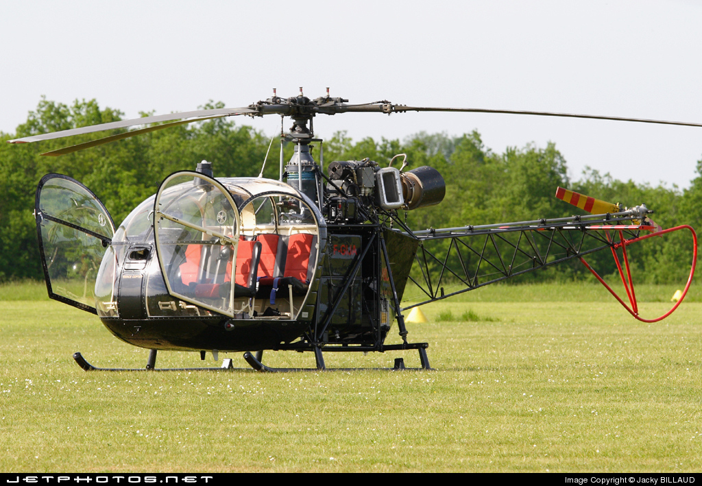 F-GIJA - Aérospatiale AS 313B Alouette II - France Copter