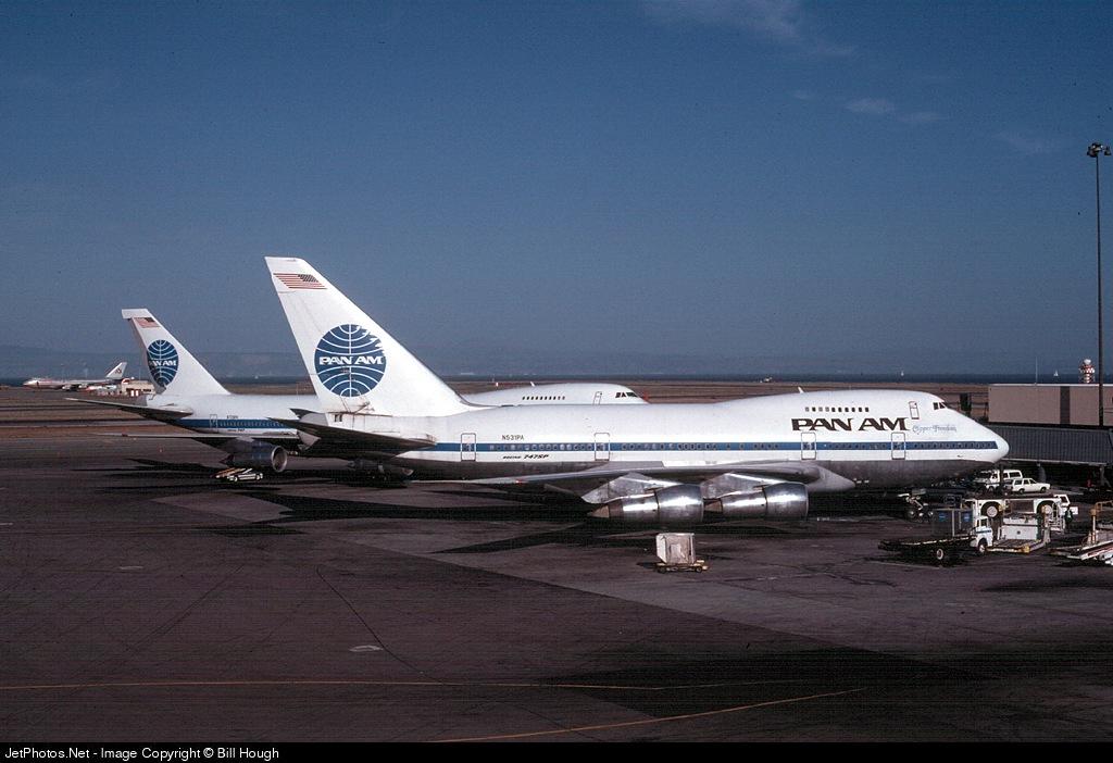 N531PA - Boeing 747SP-21 - Pan Am