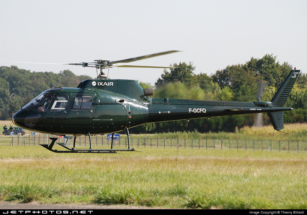 F-GCFQ - Aérospatiale AS 350B Ecureuil - Ixair