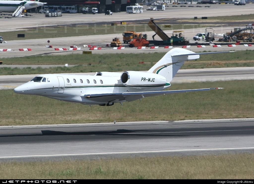 PR-MJC - Cessna 750 Citation X - Alliance Jet Táxi Aéreo