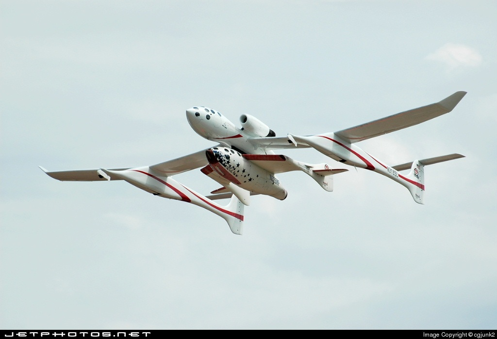 N328KF - Scaled Composites SpaceShipOne - Private