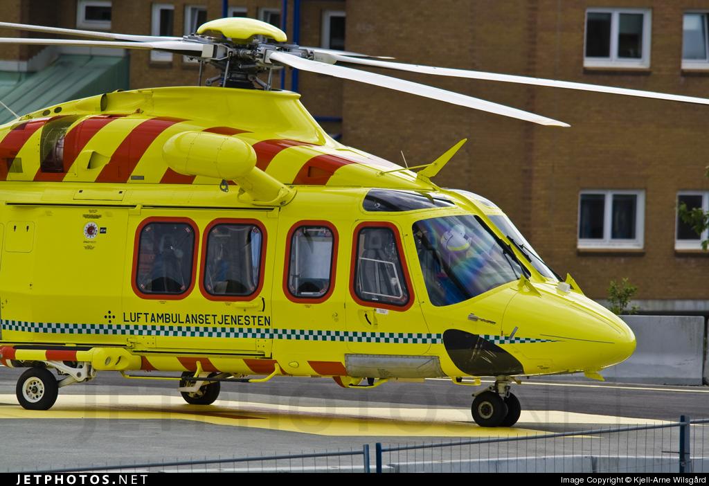 LN-OLS - Agusta-Westland AW-139 - Lufttransport
