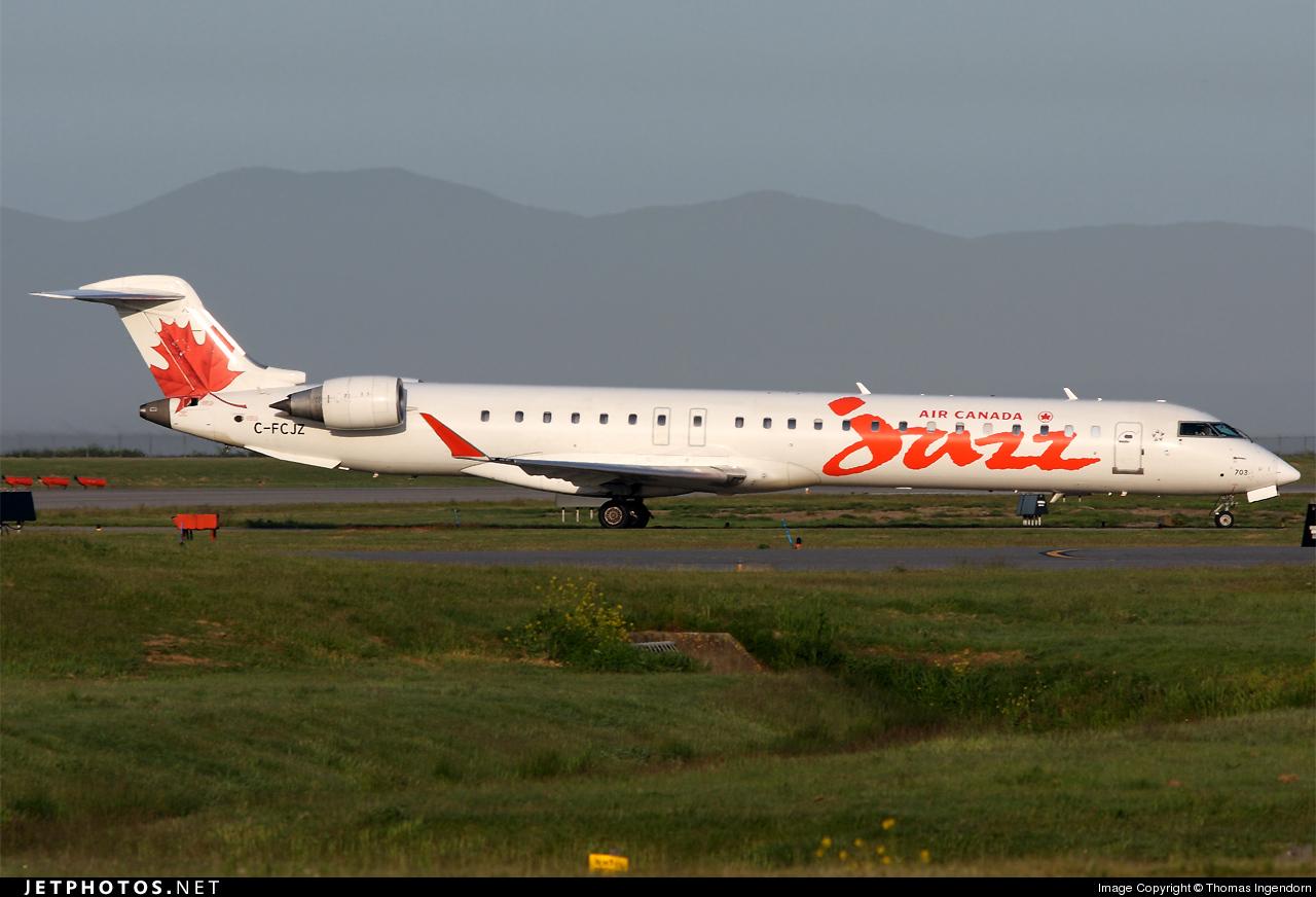 C-FCJZ - Bombardier CRJ-705LR - Air Canada Jazz