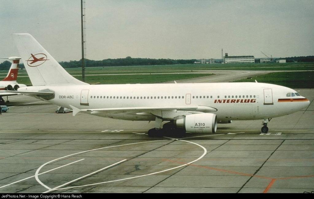 DDR-ABC - Airbus A310-304 - Interflug