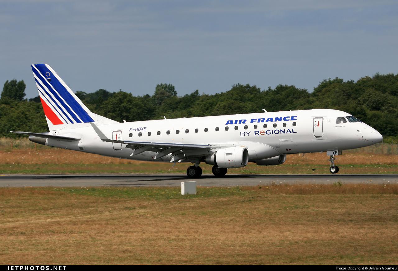 F-HBXE - Embraer 170-100STD - Air France (Régional Compagnie Aerienne)