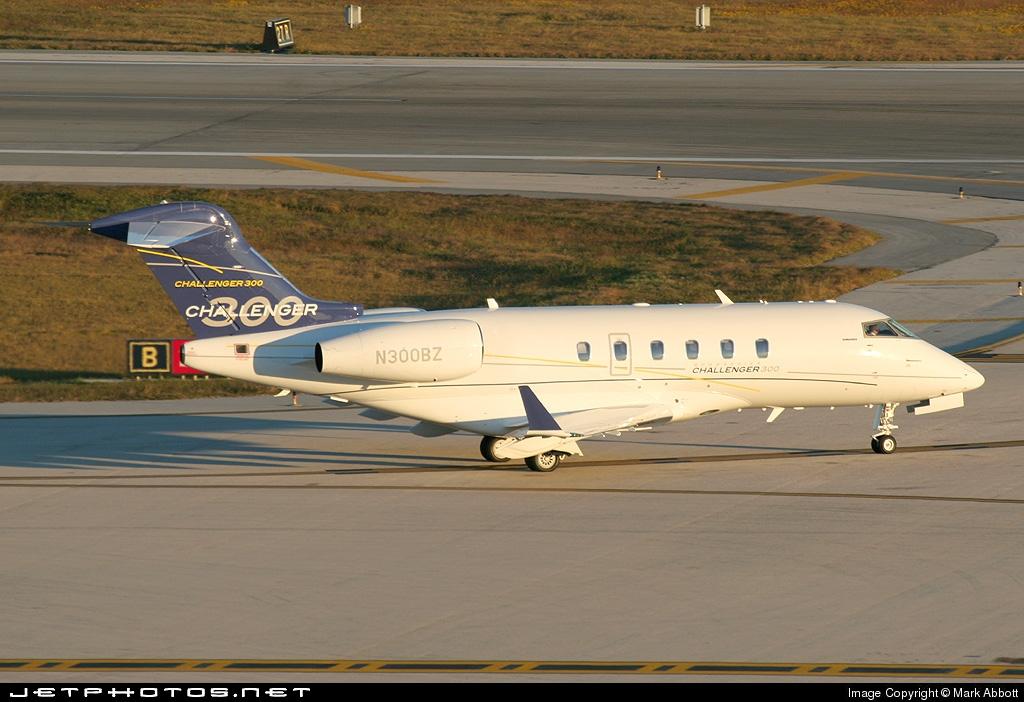 N300BZ - Bombardier BD-100-1A10 Challenger 300 - AVN Air