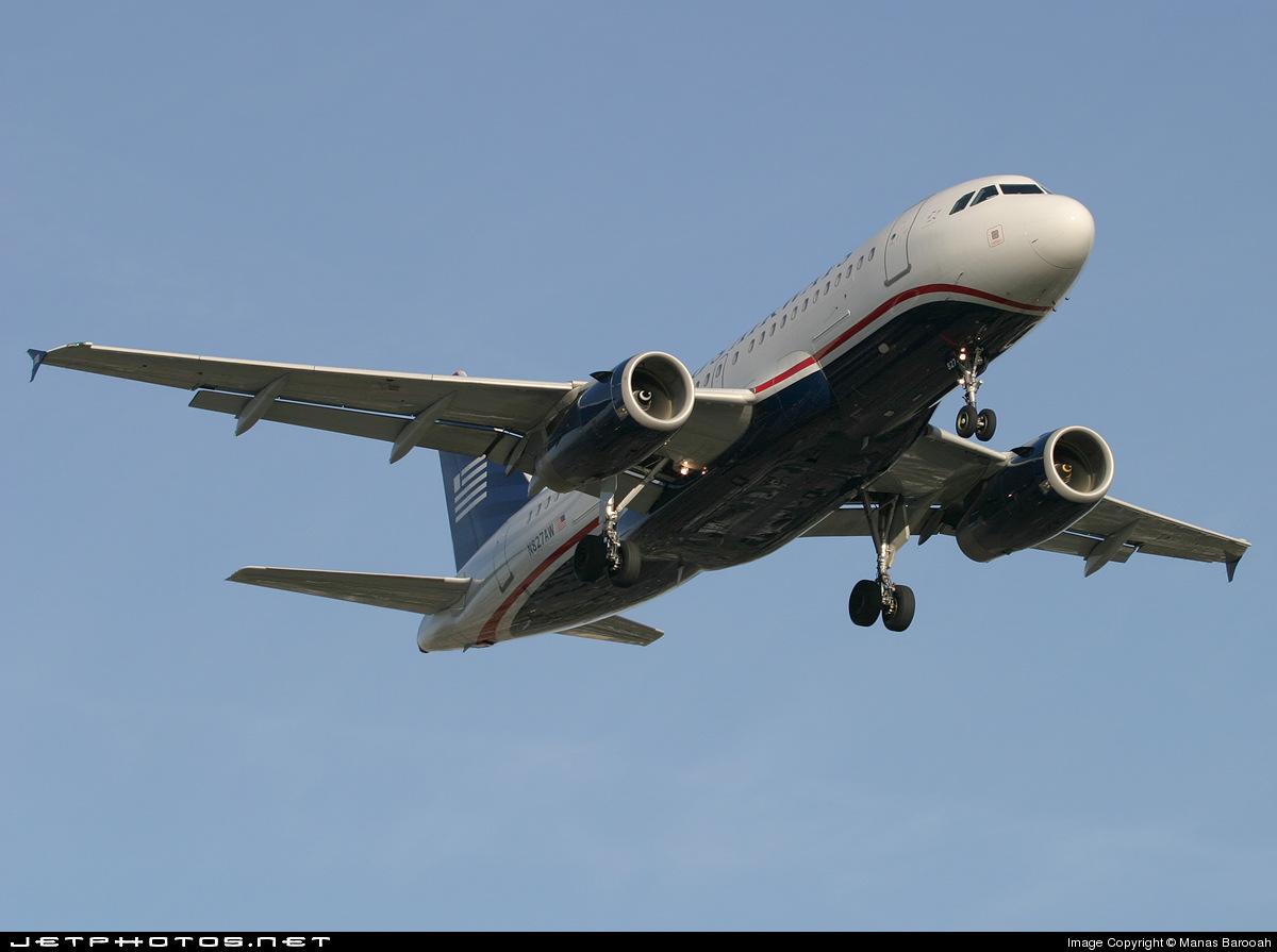 N827AW - Airbus A319-132 - US Airways (America West Airlines)