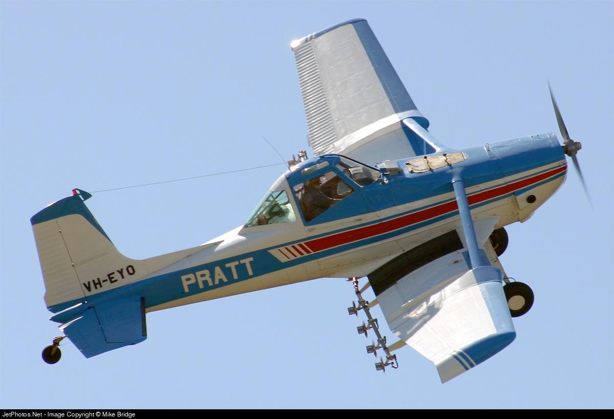 VH-EYO - Cessna A188B-A1 Ag Truck - Private