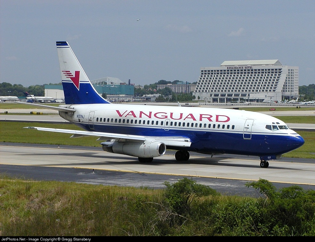 N127NJ - Boeing 737-2B7(Adv) - Vanguard Airlines