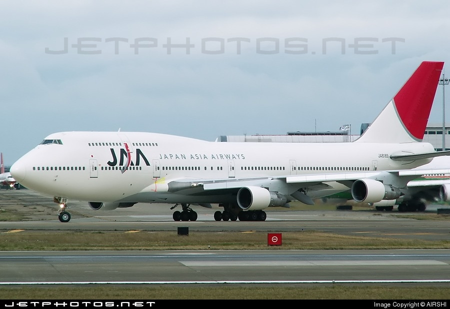 JA8189 - Boeing 747-346 - Japan Asia Airways (JAA)