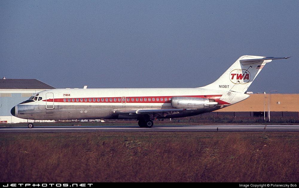 N1061T - McDonnell Douglas DC-9-15 - Trans World Airlines (TWA)