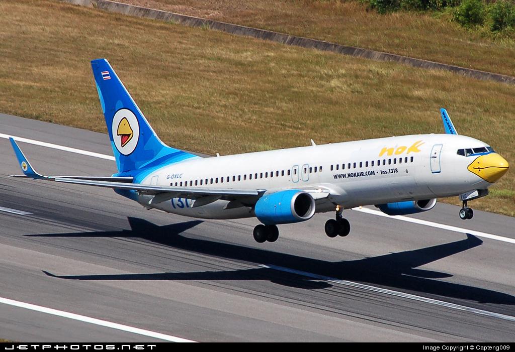 G-OXLC - Boeing 737-8BK - Nok Air (XL Airways)