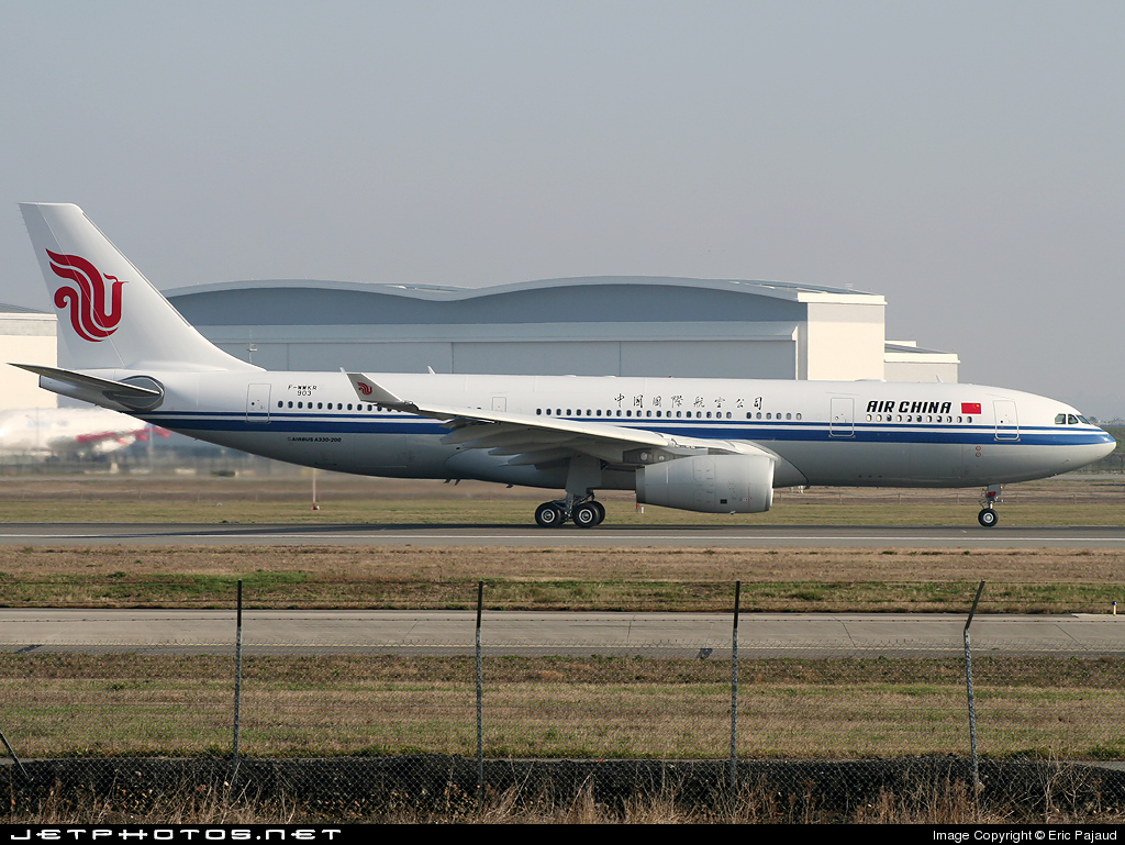 F-WWKR - Airbus A330-243 - Air China
