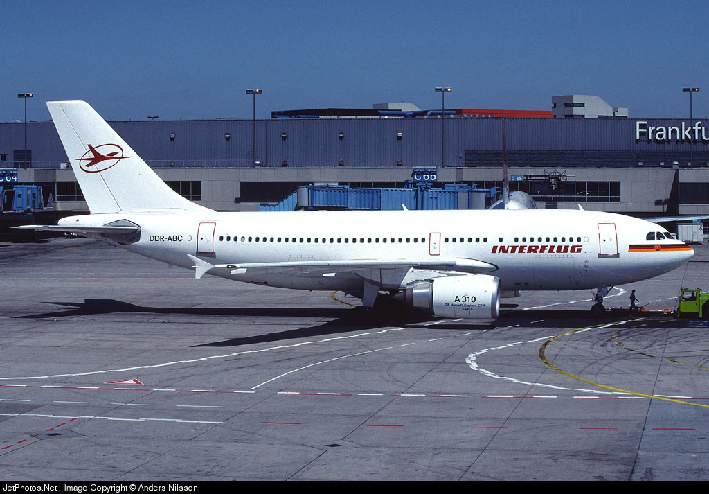 DDR-ABC - Airbus A310-304 - Interflug