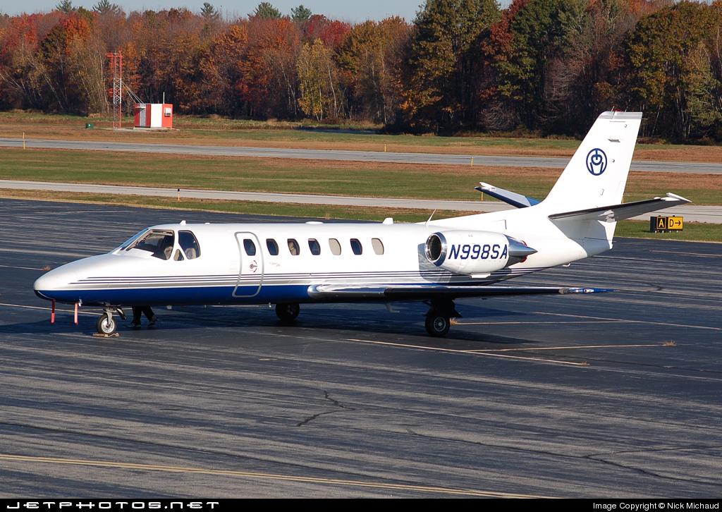 N998SA - Cessna 560 Citation V - Private