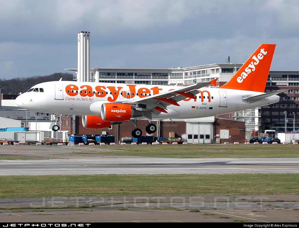 D-AVYL - Airbus A319-111 - easyJet