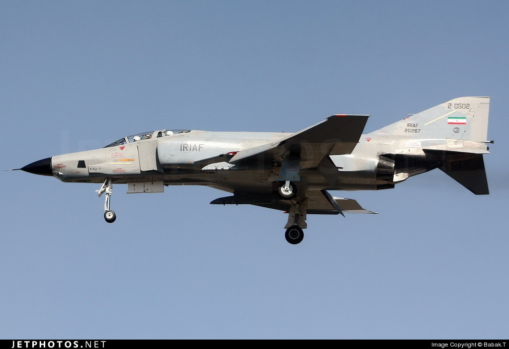 2-6502 - McDonnell Douglas RF-4E Phantom II - Iran - Air Force