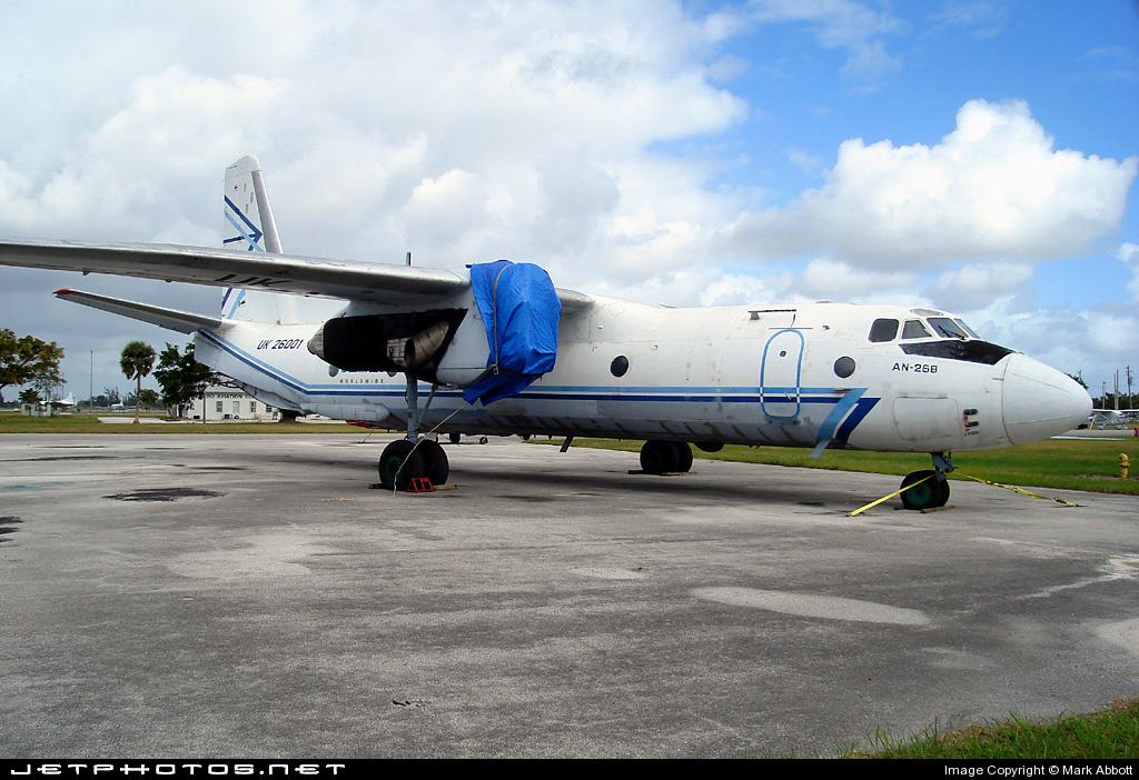 UK-26001 - Antonov An-26B - Avialeasing Aviation Company
