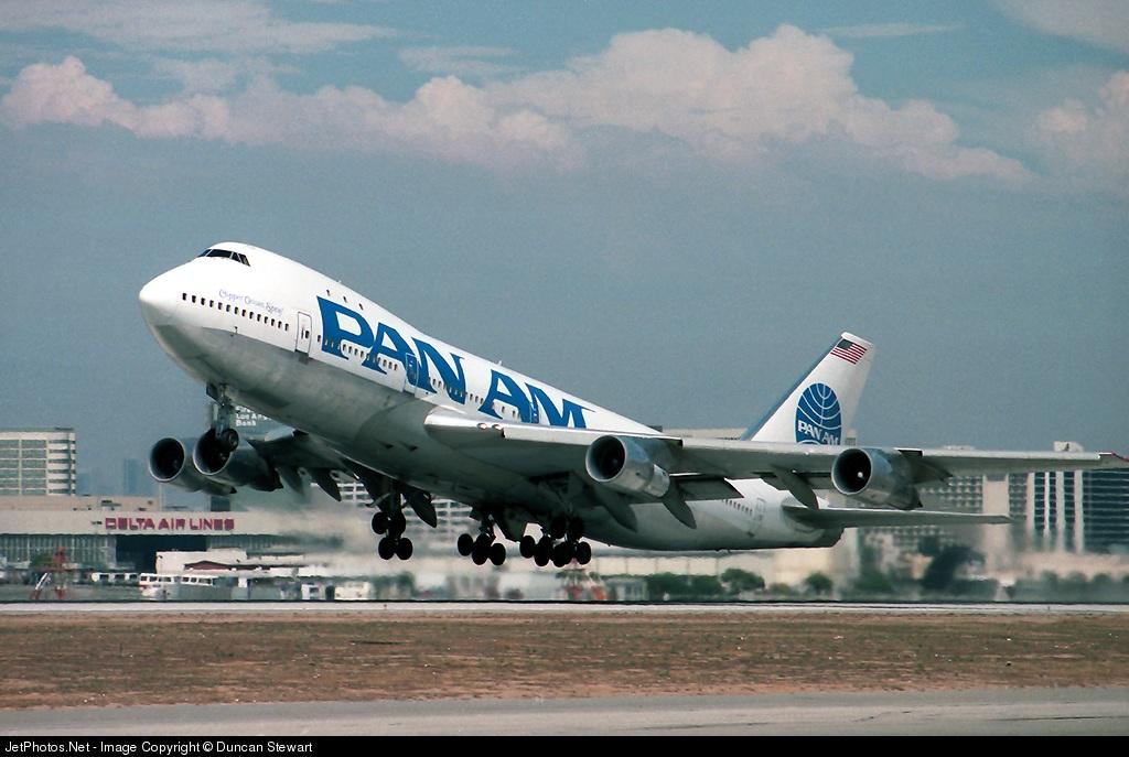 N744PA - Boeing 747-121 - Pan Am