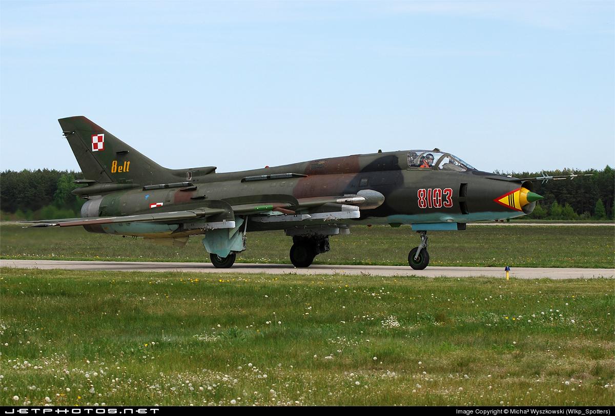 8103 - Sukhoi Su-22M4 Fitter K - Poland - Air Force