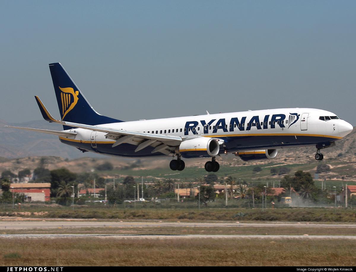 EI-DLL - Boeing 737-8AS - Ryanair