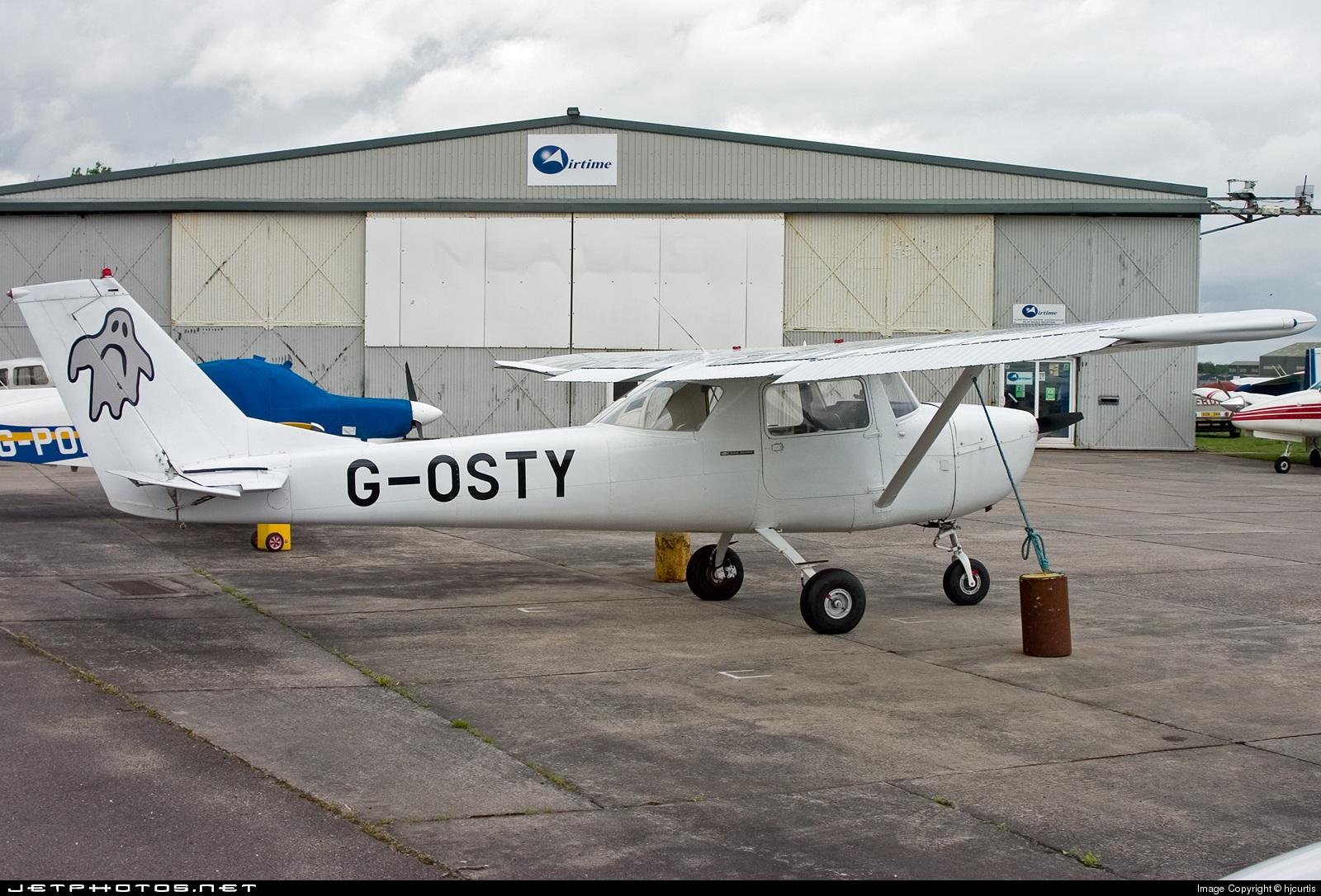 G-OSTY - Reims-Cessna F150G - Private