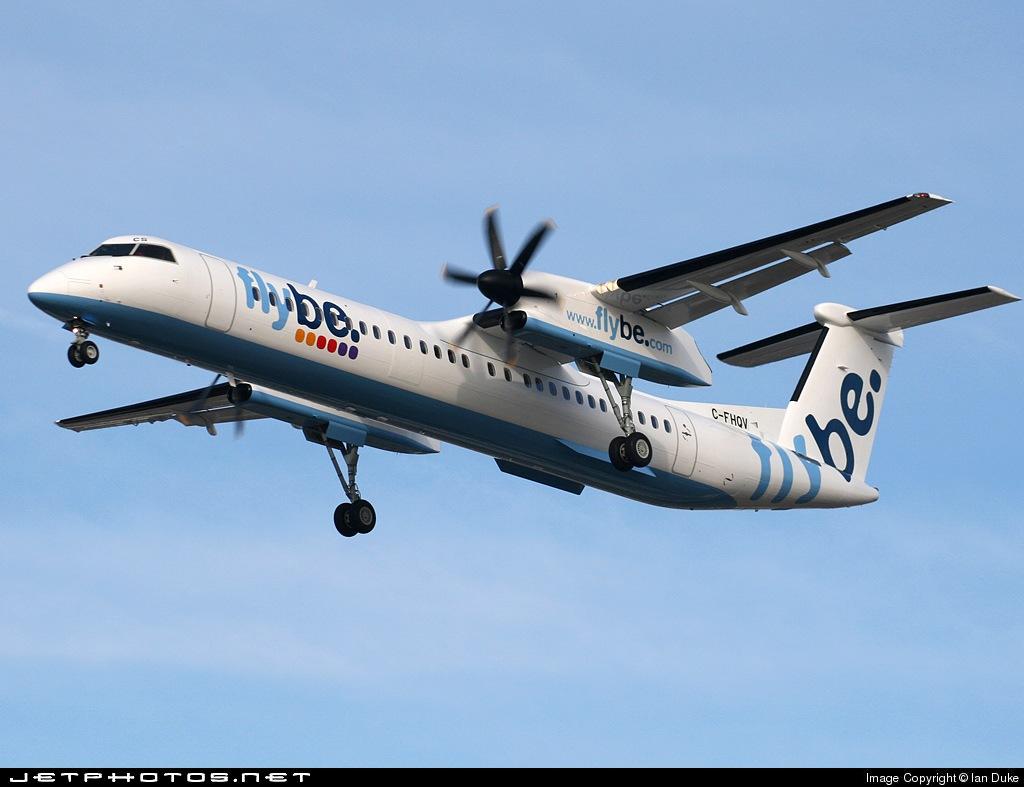 C-FHQV - Bombardier Dash 8-Q402 - Flybe