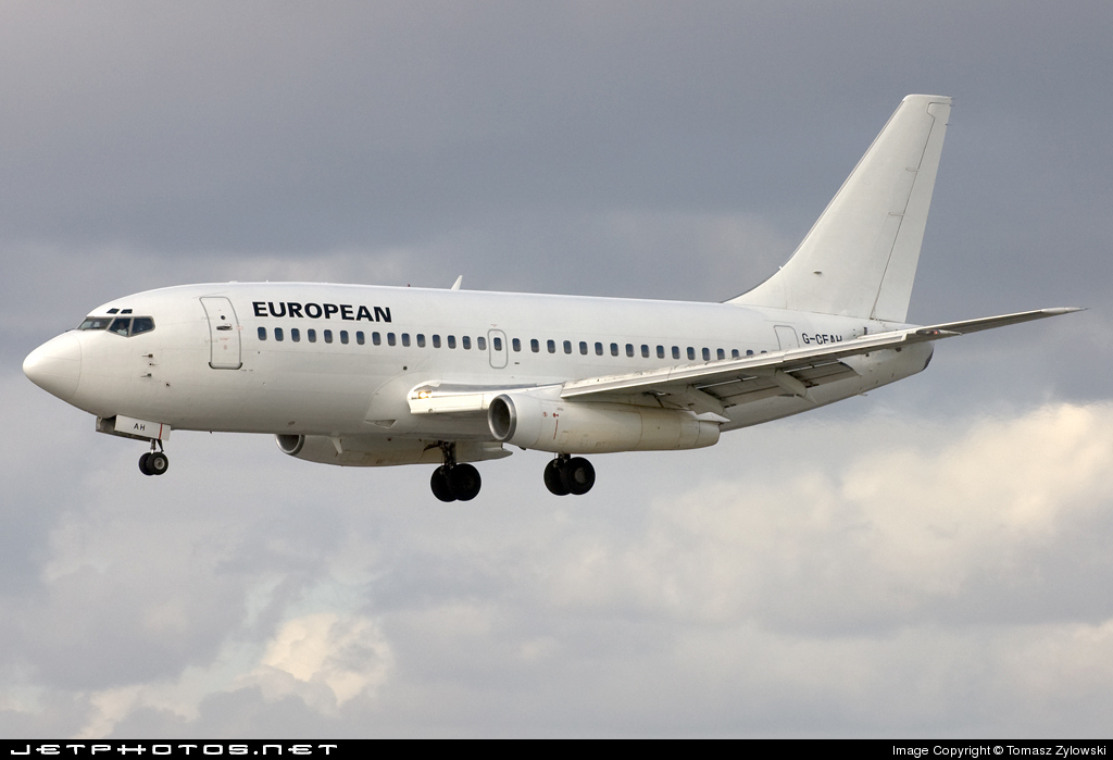 G-CEAH - Boeing 737-229(Adv) - European Aviation (EAL)