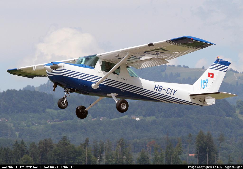 HB-CIY - Reims-Cessna F152 II - Private