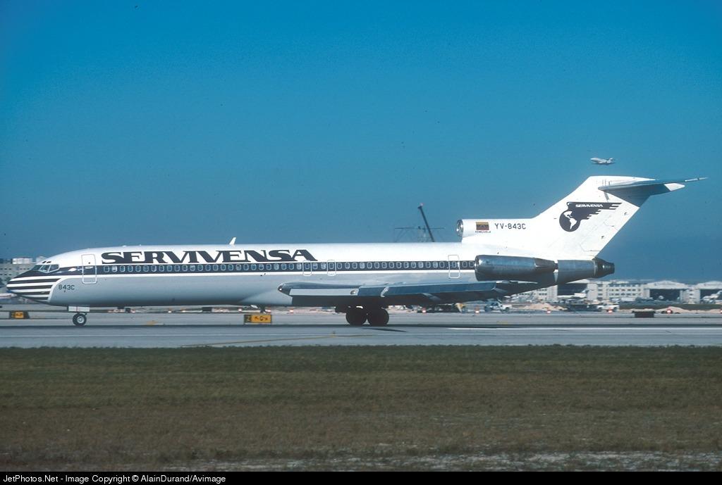 YV-843C - Boeing 727-281(Adv) - Servivensa