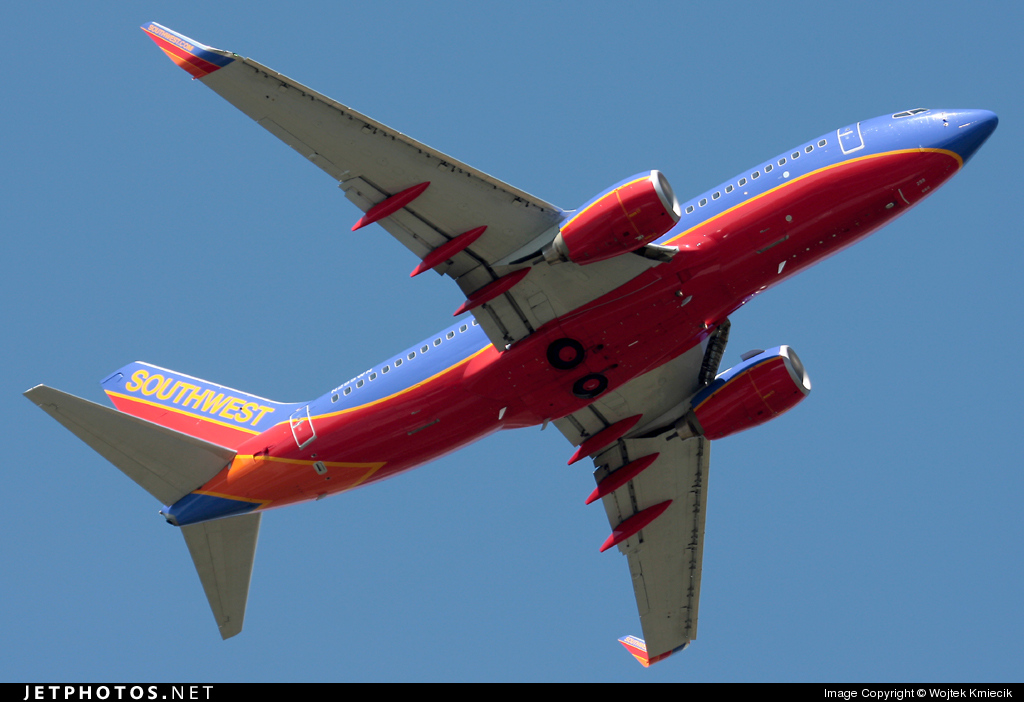 N299WN - Boeing 737-7H4 - Southwest Airlines