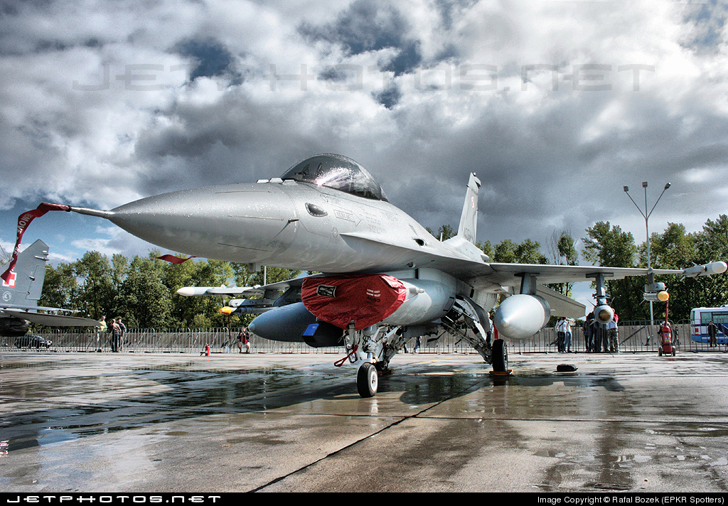 4061 - Lockheed Martin F-16C Fighting Falcon - Poland - Air Force