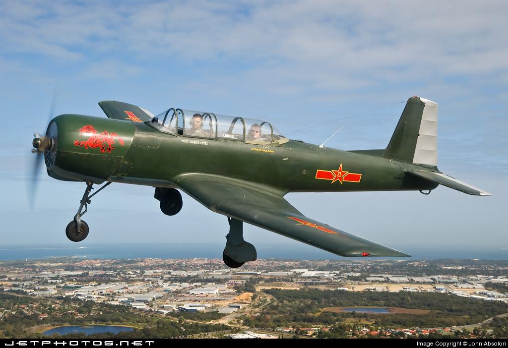 VH-FCD - Nanchang CJ-6A - Private