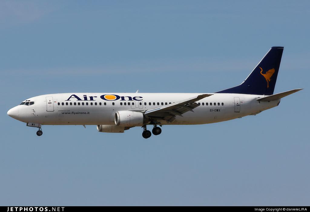 EI-CWX - Boeing 737-4Y0 - Air One