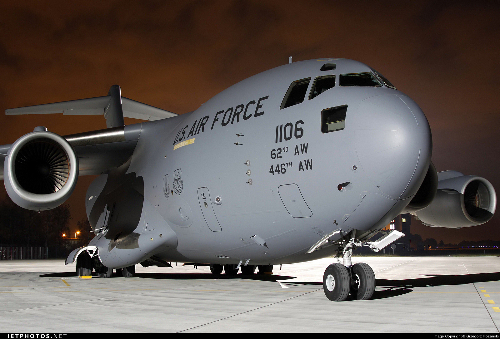 02-1106 - Boeing C-17A Globemaster III - United States - US Air Force (USAF)