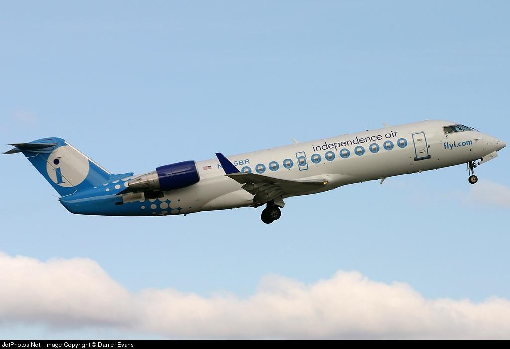 N705BR - Bombardier CRJ-200ER - Independence Air