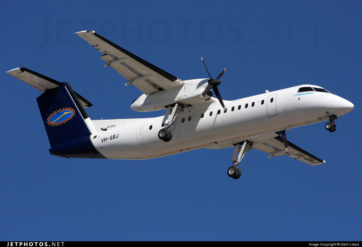 VH-SBJ - Bombardier Dash 8-Q315 - Cobham Aviation Services Australia