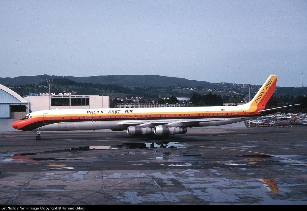 N867FT - Douglas DC-8-61(CF) - Pacific East Air
